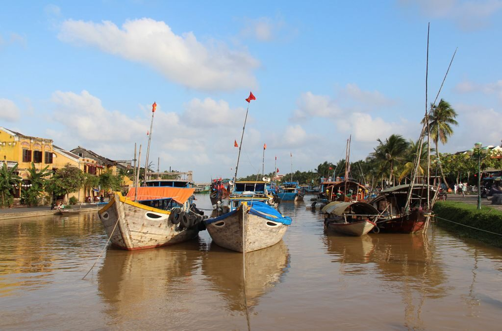 Boats in Hoi An_Max Black