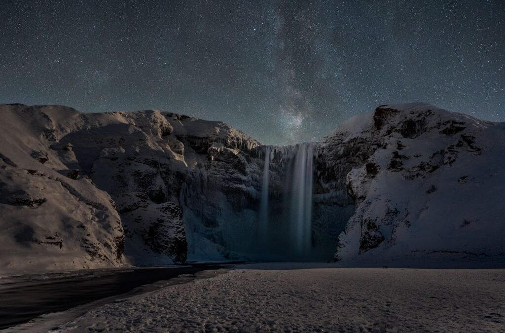 Set Subject – 1st Place – Waterfall at Night_Henry Frakes