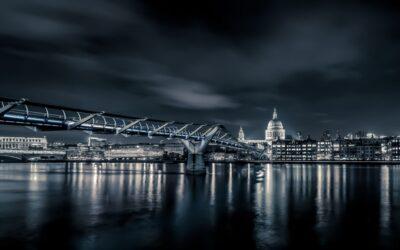 Advanced 2nd – Millennium Bridge at Night_Nigel Cox