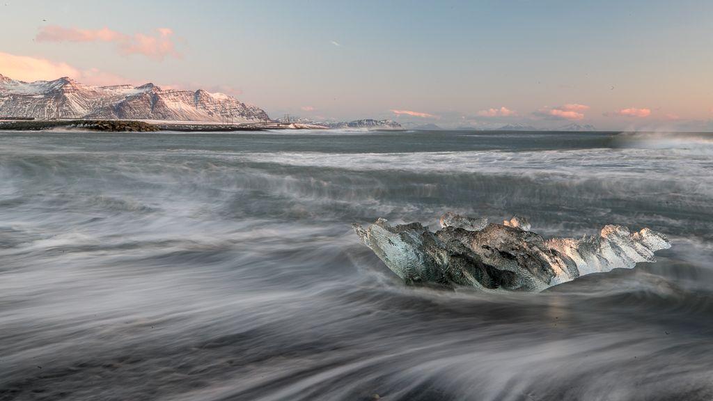 BEST LANDSCAPE – Ice Beach Sunrise_Martin Patten LRPS CPAGB