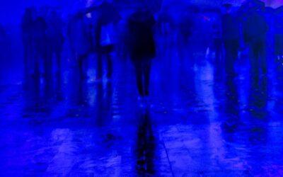 Primary 1st – Blue Rain_Susan Gaszczak