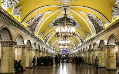 Primary 1st – Moscow metro_Hanue Chan