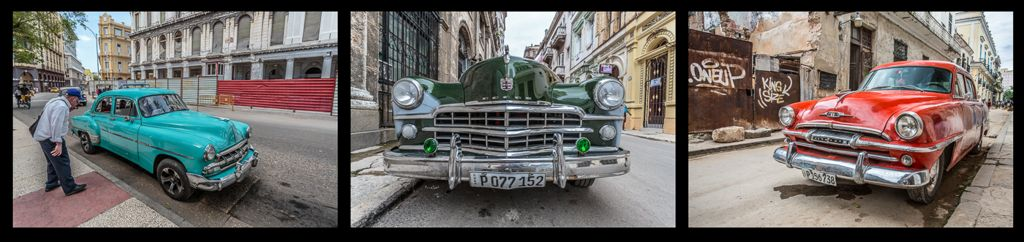 Triptych Highly commended – Cuban Cars_Martin Patten LRPS BPE1
