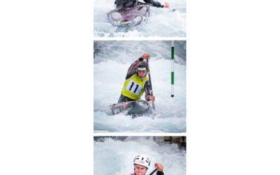 Tryptic Print 3rd – Kayaking_Martin Patten LRPS CPAGB