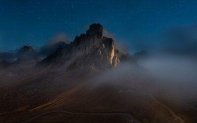 Intermediate 1st – Mist Over Passo Di Giau_Henry Frakes